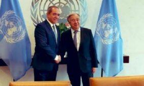 وزير الخارجية الجزائري يبحث قضية الصحراء الغربية مع الأمين العام للأمم المتحدة