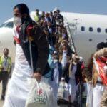 الاحتفالات بإطلاق سراح أسرى حرب اليمن في مبادلة ضخمة
