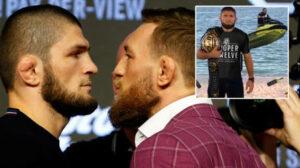 """""""هل تعلم أن خبيب مسلم؟""""  يثير نجم UFC السابق McGregor الغضب من خلال إظهار Khabib في قمة WHISKEY بعد عرض إنجازاته"""