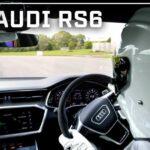 شاهد Stig ترويض Audi RS6 Avant حول حلبة اختبار Top Gear