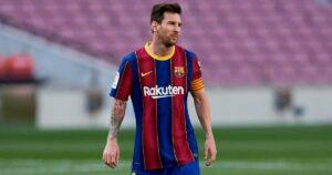 رفض برشلونة السماح لميسي بالانضمام إلى المنافس كما أوضح بارتوميو موقف الانتقالات