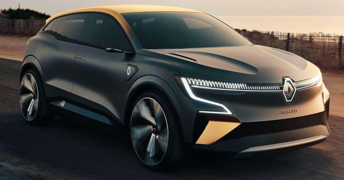 يشير مفهوم Renault Megane Evision Concept إلى مستقبل السيارات الكهربائية للعلامة التجارية مقالات اليوم News Tn