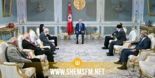رئيس الجمهورية يلتقي بمناضلين من الحركة الوطنية