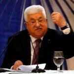 الرئيس الفلسطيني محمود عباس يلتقي برئيس المؤتمر اليهودي العالمي رونالد لودر