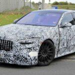 تجسس سيارة 2022 Mercedes-AMG S63e Super Saloon لأول مرة