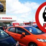هوندا ورينو هما الأحدث في سحب سيارات الديزل من صالات العرض في المملكة المتحدة