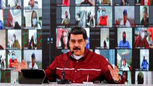 """فنزويلا: مادورو يؤكد تعرض أكبر مصفاة للنفط في البلاد إلى هجوم  """"بسلاح قوي"""""""
