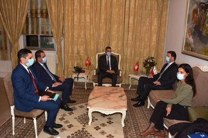 وزير الدّاخلية يستقبل سعادة سفير جمهورية التشيك بتونس
