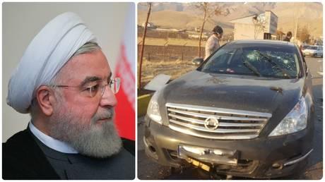 الرئيس الإيراني يشير بإصبع الاتهام إلى إسرائيل بعد اغتيال كبير العلماء العسكريين بالقرب من طهران