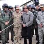 انطلاق مناورات عسكرية مشتركة من ست دول في مصر