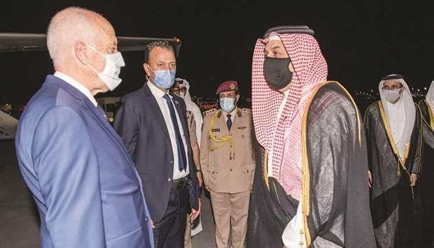زيارة الرئيس التونسي لتوطيد العلاقات مع قطر