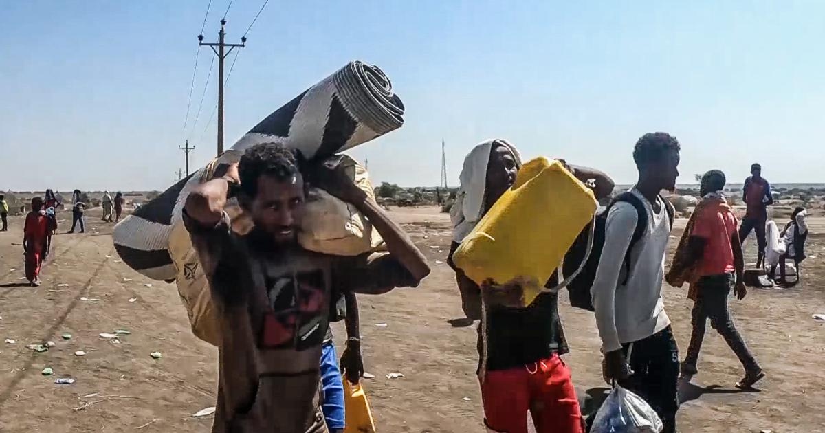 قلق سوداني من استمرار تدفق اللاجئين الإثيوبيين