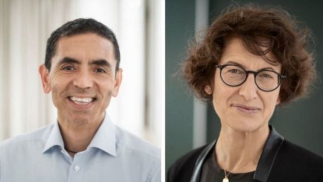 زوجان من أصل تركي وراء التوصل إلى لقاح كورونا - BBC News عربي