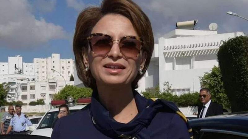 نقلة حرم رئيس الجمهورية إلى مركز الدراسات القانونية والقضائية بتونس