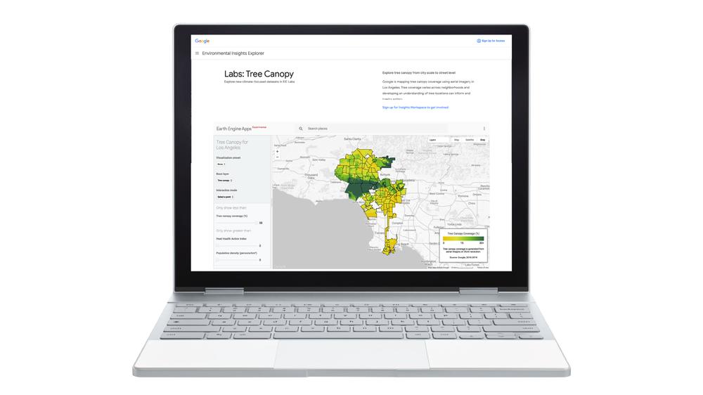 استخدمتها لوس أنجلوس.. غوغل تطلق أداة جديدة لمساعدة المدن على التكيف مع درجة الحرارة