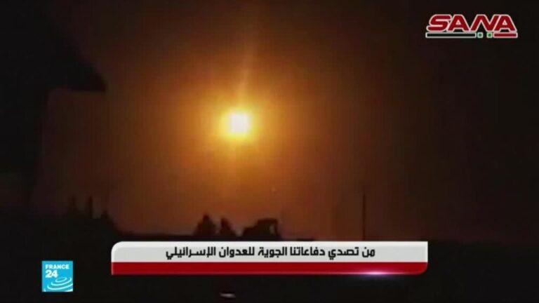 سوريا: إسرائيل تشن ضربات جوية في ريف دمشق والقنيطرة جنوب البلاد