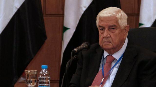وفاة وزير الخارجية السوري وليد المعلم - BBC News عربي