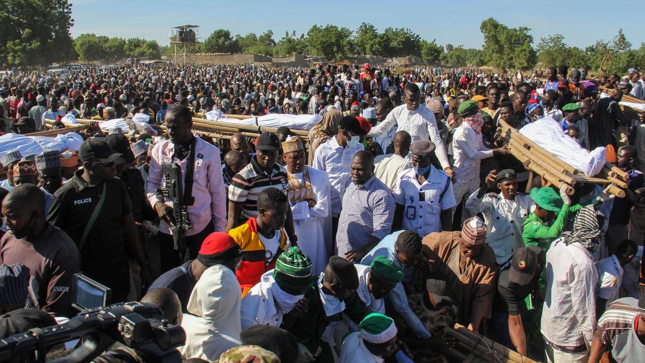 نيجيريا : مقتل أكثر من 110 مدنيا في هجوم دموي شنه مسلحون في شمال شرق نيجيريا