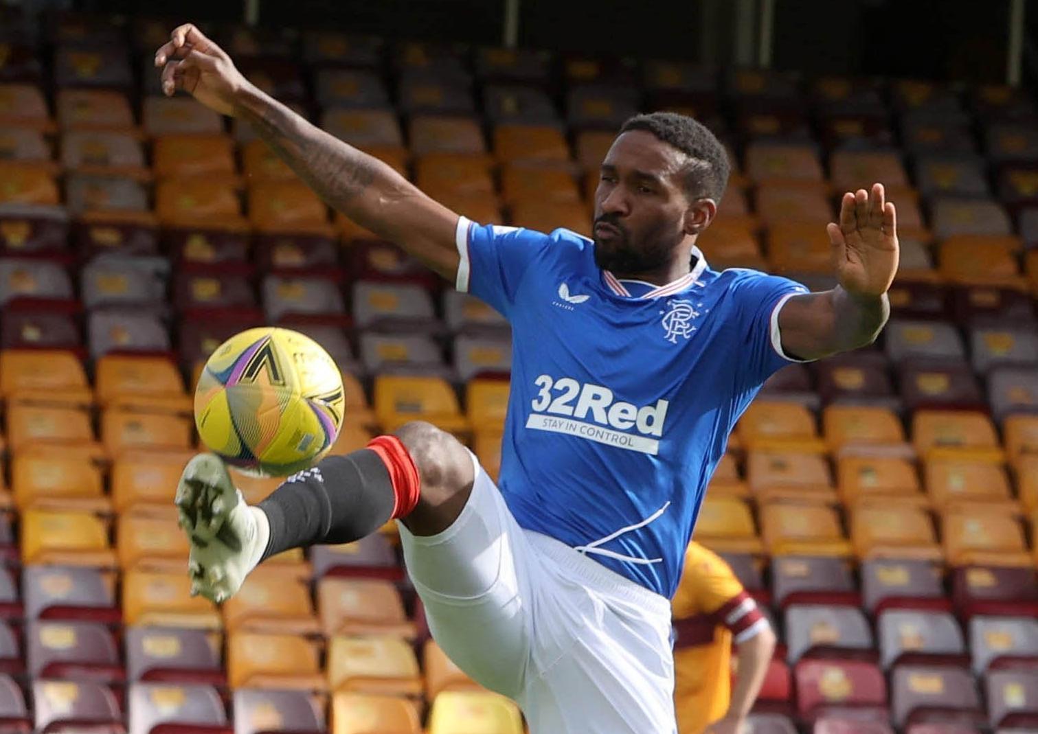 Rangers striker Jermain Defoe. Pic by PA.