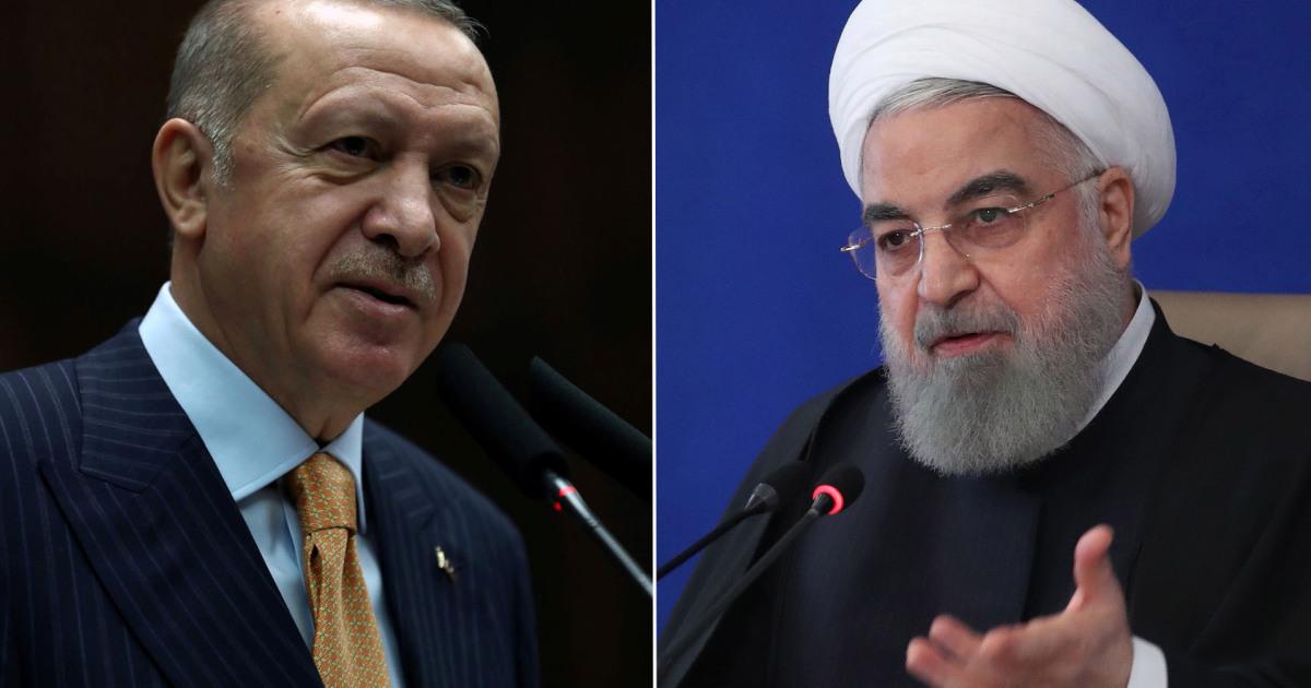 النووي والانتقام وبايدن ومخططات ضرب المنطقة.. قضايا ساخنة بحثها روحاني وأردوغان