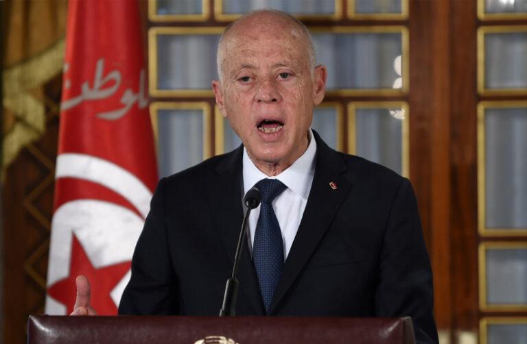 يدعي رئيس تونس.  زيف الخطاب المعاد للسامية ، كما يقول مكتبه