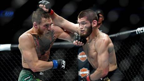 `` سنحصل عليه '': يقول كونور مكجريجور إن بطل UFC خبيب نورماغوميدوف يجب تجريده من اللقب إذا لم يوافق على إعادة المباراة