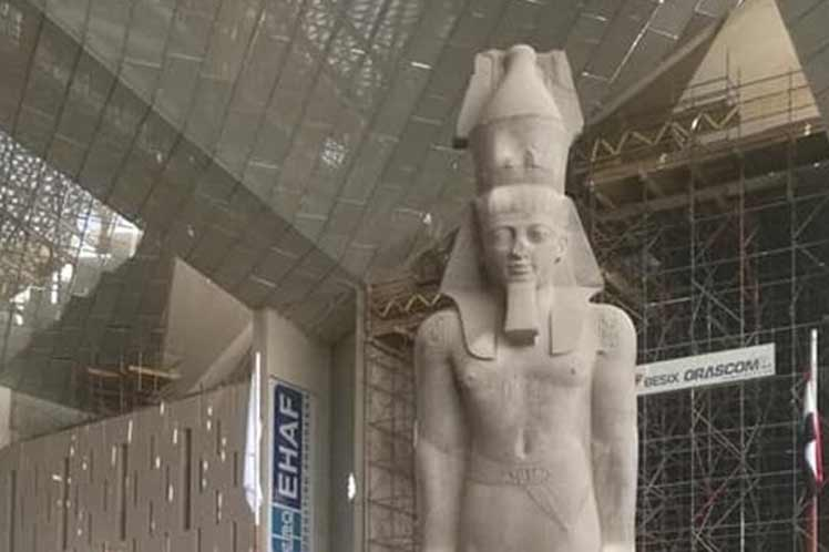 Construction of Great Egyptian Museum nears completion