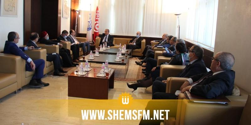 خلال لقاء بين الأعراف والسفير الليبي: التأكيد على أهمية مشاركة المؤسسات التونسية في إعادة بناء ليبيا