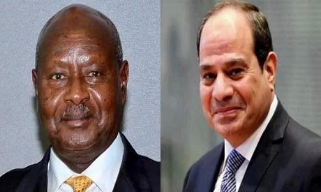 السيسي يهنئ نظيره الأوغندي بإعادة انتخابه - سياسة - مصر