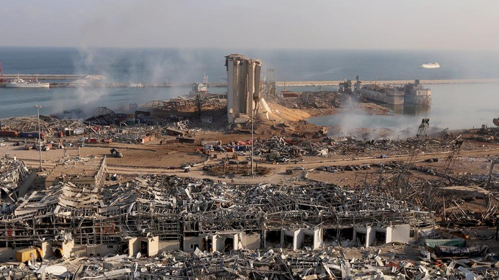 رجال أعمال سوريون مرتبطون بشركة اشترت متفجرات من بيروت