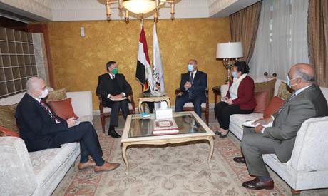شركات ألمانية تتطلع للتعاون مع مصر في مجال النقل والخدمات اللوجستية: السفير الألماني - السياسة - مصر
