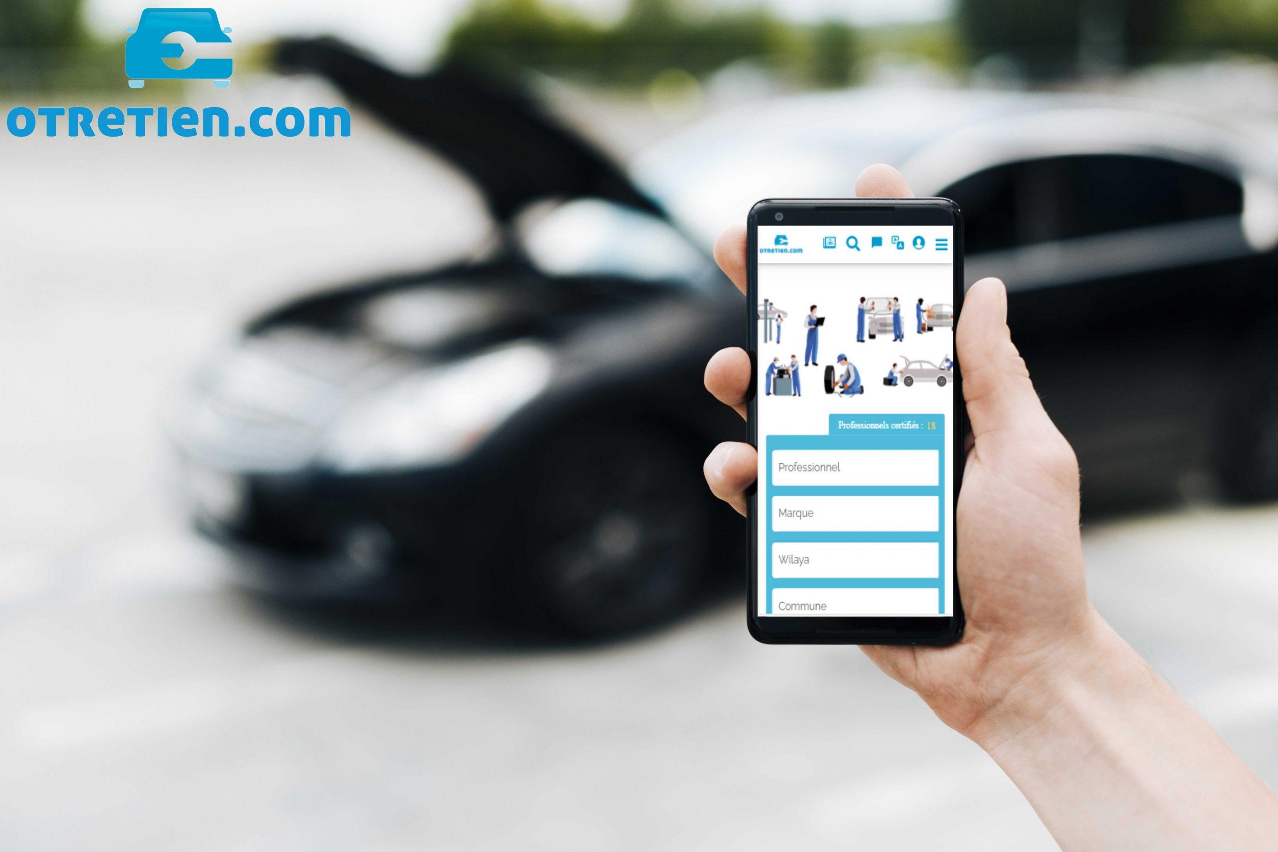 OTRETIEN.COM: أول موقع إلكتروني لإصلاح وصيانة السيارات في الجزائر - Algerie Eco