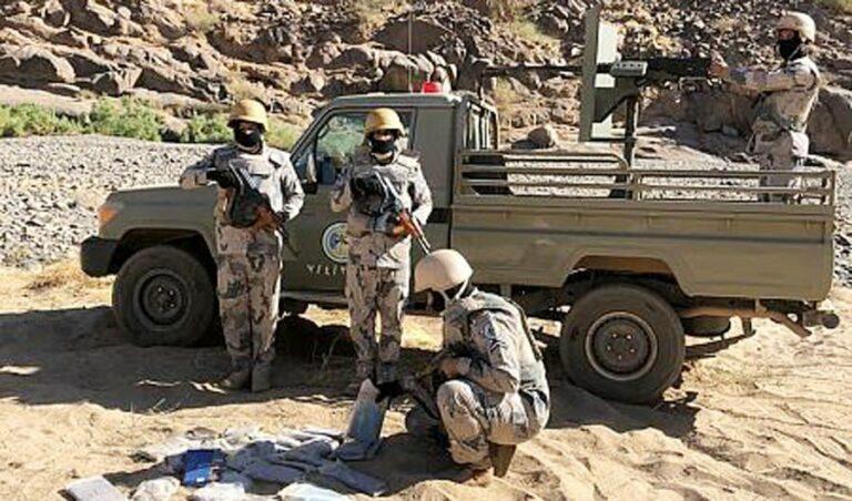 حرس الحدود السعودي يعتقل 94 مهرب مخدرات