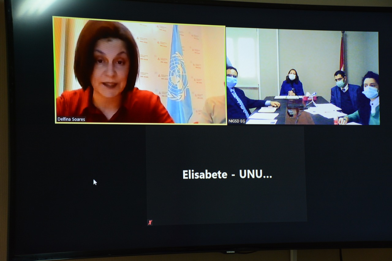 NIGSD في مصر وجامعة الأمم المتحدة توقعان مذكرة تفاهم في مجالات التدريب والاستشارات - ديلي نيوز إيجيبت