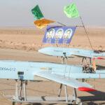 بالصور: الجيش الإيراني يجري أول تدريب بطائرة بدون طيار على الإطلاق