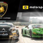 أطلقت Lamborghini Squadra Corse قناة مخصصة مع Motorsport.tv