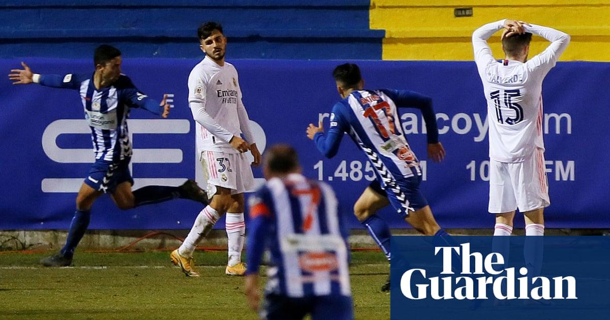 الجولة الأوروبية: ريال مدريد يخرج من كأس الملك إلى فريق الدرجة الثالثة
