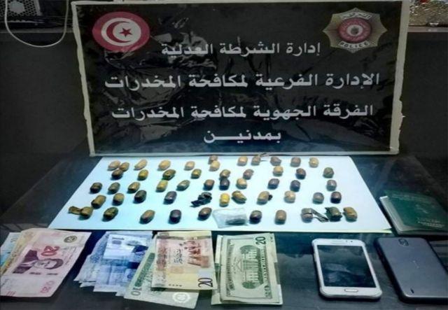 مدنين/ القبض على شخص وحجز كمية من مخدر الهيروين
