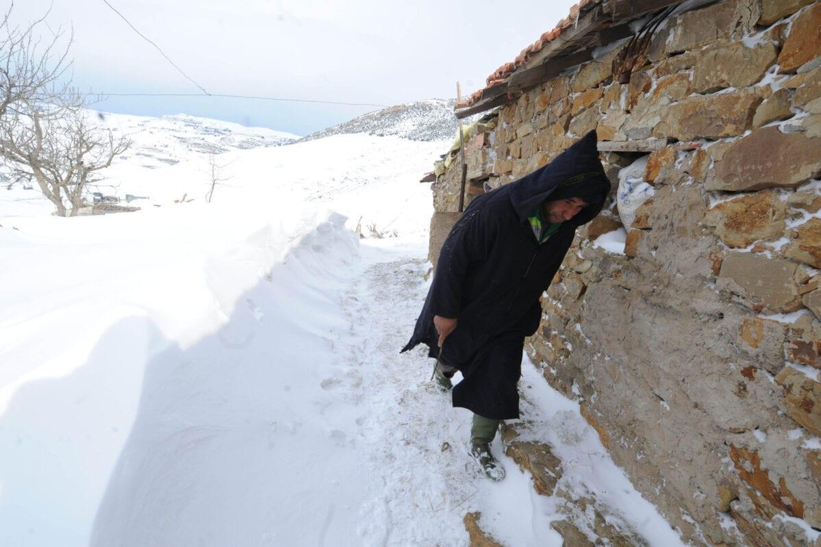 أغطية ثلجية للسعودية والجزائر مع انخفاض درجات الحرارة