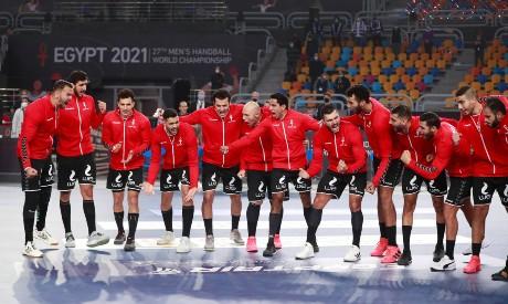 Egypt v Chile handball