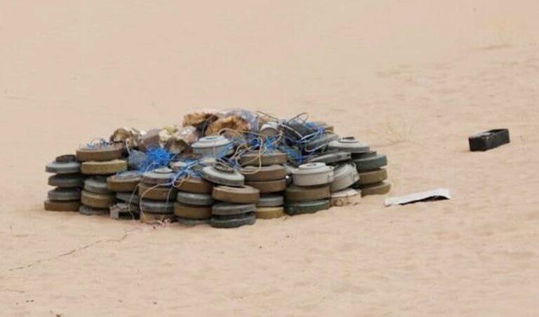 مشروع سعودي يزيل 1500 لغم للحوثيين في أسبوع