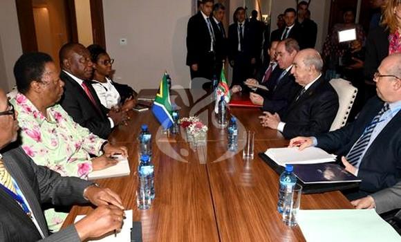 شكلت رئاسة جنوب إفريقيا والجزائر للاتحاد الأفريقي نكسة كبرى لأفريقيا