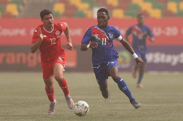 فازت تونس على ناميبيا 2-0 - الناميبي