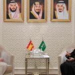 وزيرا الخارجية السعودي والإسباني يبحثان التعاون المشترك